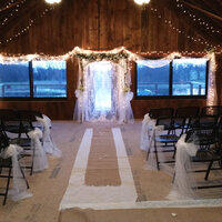 Upper Floor of Wedding Barn - Seat 150 in rows