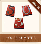 Click to Shop House Numbers