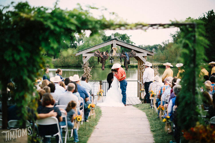 Country Wedding Package at Civil War Ranch